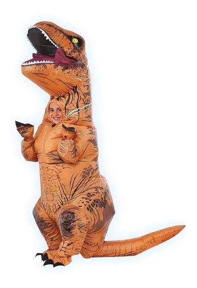 Disfraz Jurrasic Park World Niño Inflable T-rex Dinosaurio