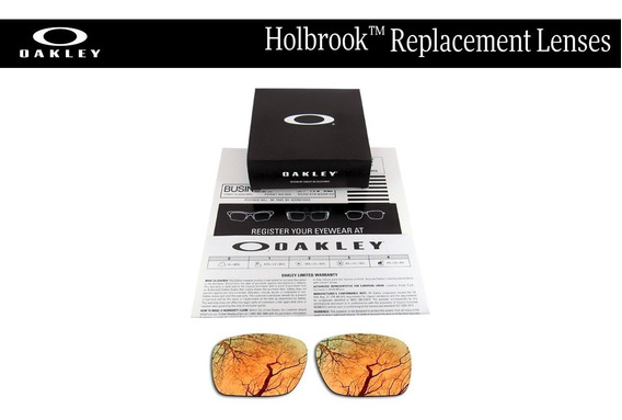 Micas De Reemplazo Para Oakley Holbrook Color Copper Gold