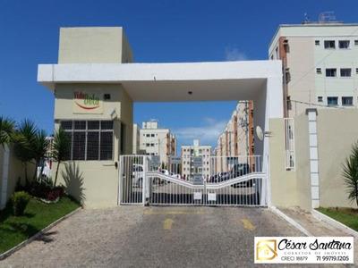 Apartamento 2/4 Com Suite - Vida Bela 1 - Lauro De Freitas - Ap00543 - 33409893