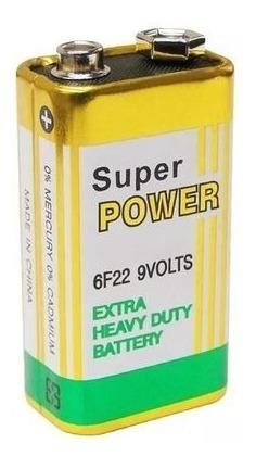 Bateria 9v Comum Granel Super Power/gp Power Plus