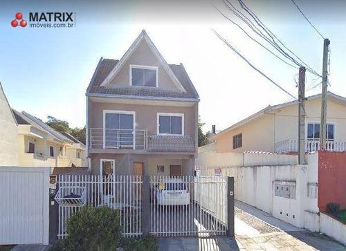 Sobrado Com 3 Dormitórios À Venda, 180 M² Por R$ 620.000 - Atuba - Curitiba/pr - So2317