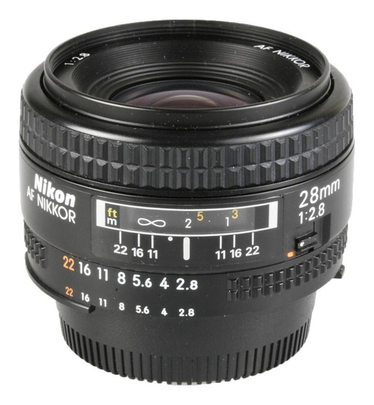 Objetiva Nikon Af 28mm F2.8