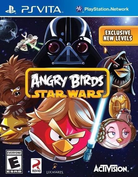 Angry Birds Star Wars Ps Vita Mídia Física Usado