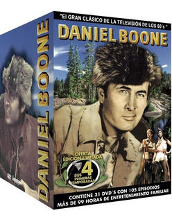 Daniel Boone- Temporada 1-4 (importada)