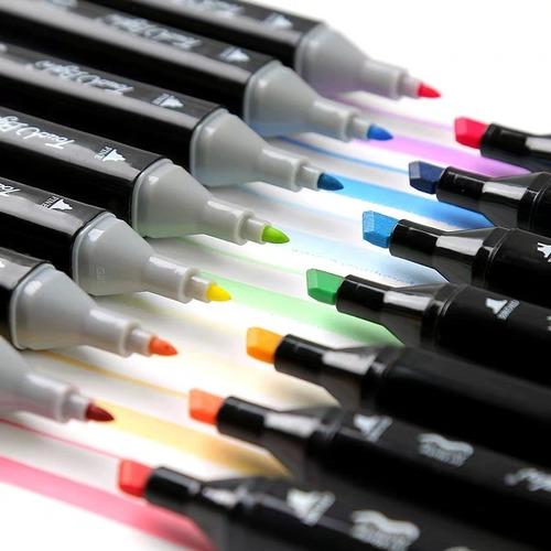 Set De 60 Plumones, Marker Touchnew, Pintar,marcar, Dibujar
