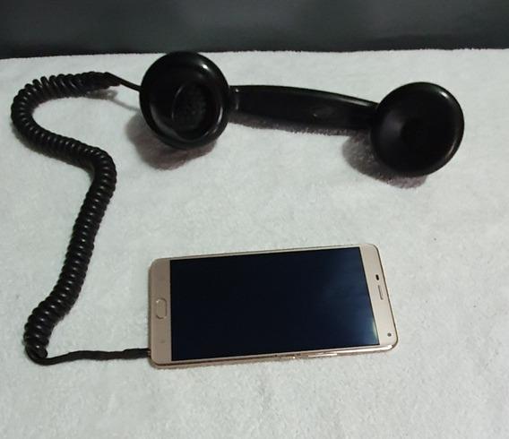 Antigo Telefone De Baquelite Fone De Ouvido