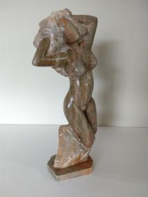 Estatua Em Pedra Sabão.decoração.estatueta.