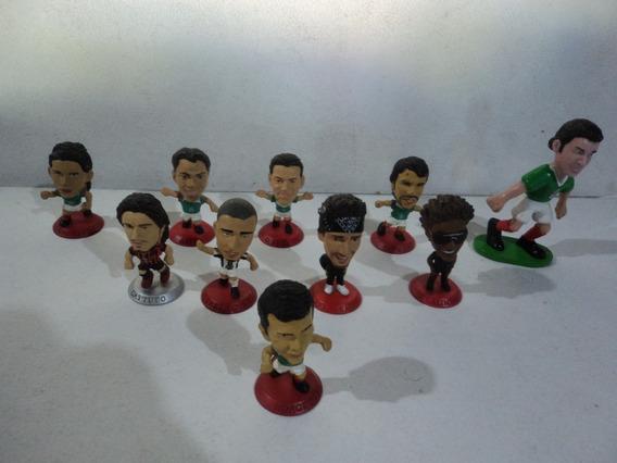 Coca Cola Microstars Lote 10 Figuras Cabezones 2004