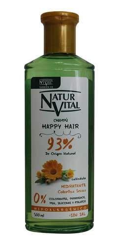 Shampoo Naturaleza Vital Happy Hair Calendula X 300ml