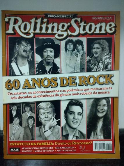 Revista Rolling Stone 107 Especial 60 Anos Rock Spring Rjhm