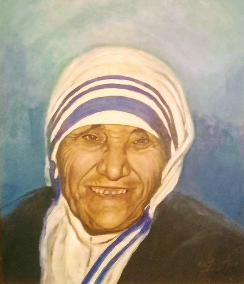 Cuadro Madre Teresa