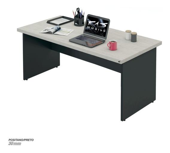 Mesa De Escritório Escrivaninha, 1.00x60 Cnt30mm, Vár. Cores