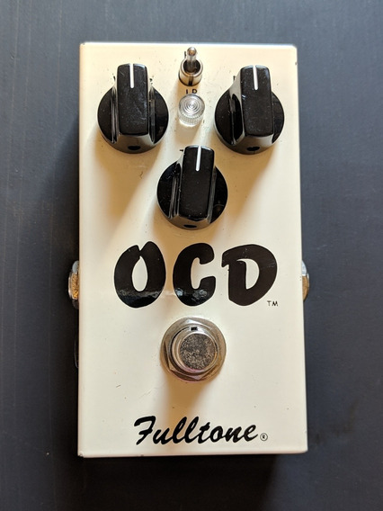 Pedal De Guitarra Fulltone Ocd Overdrive/distortion