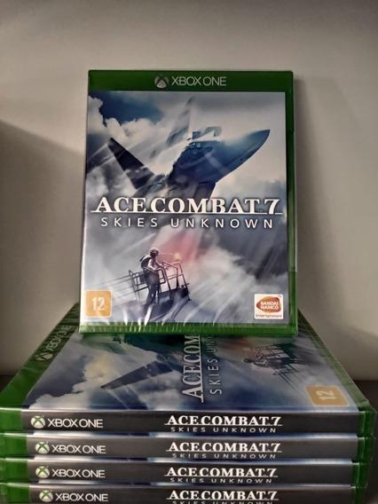 Ace Combat 7 Xbox One Skies Unknown Mídia Física
