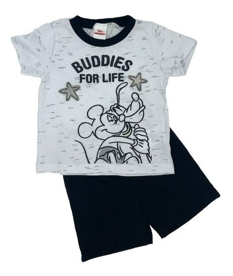 Conjunto Estampado Disney Mickey Y Pluto