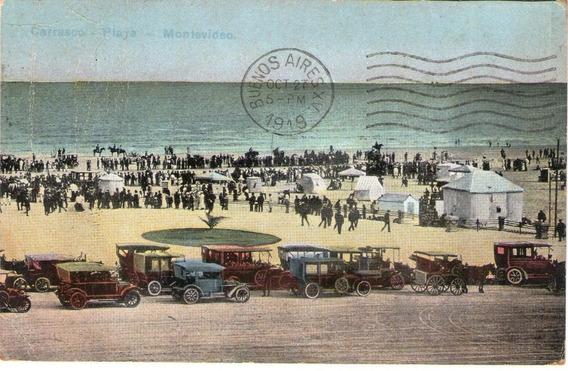 Postal.montevideo.tarjeta Postal.hotel Playa Pocitos 1906/19