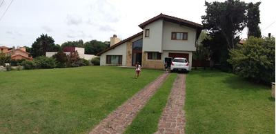 Casa Chalet En Alquiler Pinamar - Excelente Ubicacion!!!