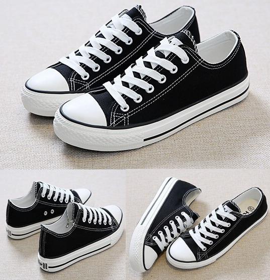 Zapatos Casuales Tipo Converse Huan Qiu (importados)