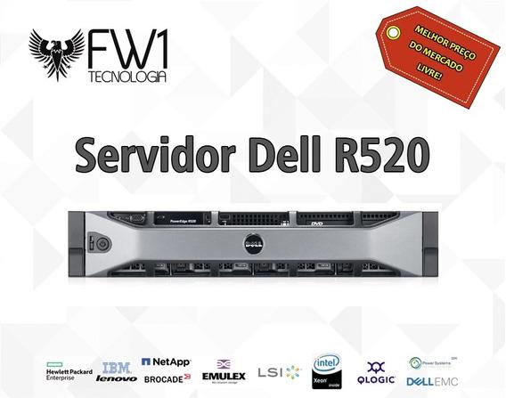 Servidor Dell R520 2u 128gb Ram / 2x 600gb 15k / 2x Sixcore