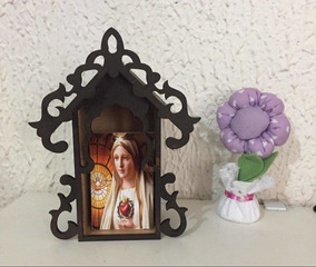 0f1d20065 Capelinha De Nossa Senhora De Fatima - Esculturas no Mercado Livre ...