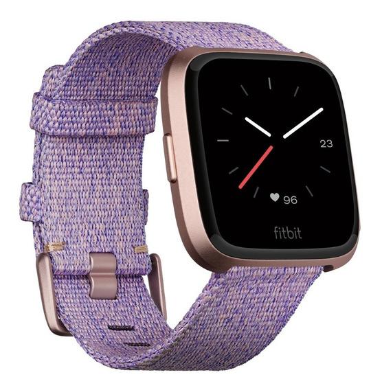 Reloj Inteligente Fitbit Versa Special Edition Gris Morado