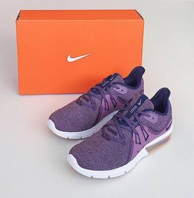 Tênis Nike Air Max Sequent 3 Feminino 37 Violeta/branco Novo