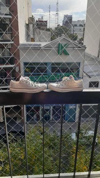 Zapatillas All Star Converse Blancas Talle 37
