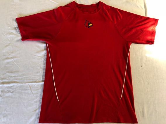 Remera Futbol Universitario Luoisville Cardinals,talle S