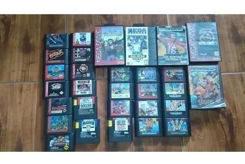 Jogos De Mega Drive Originais
