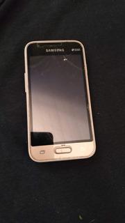 Samsung J2 Com Software Queimado