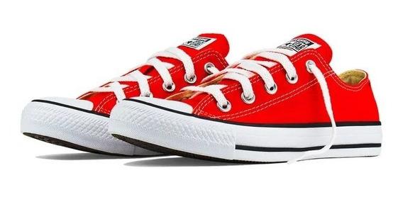 Tênis All Star Converse Vermelho Unissex Original