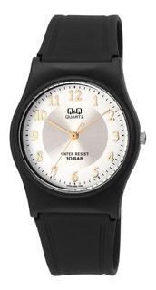 Relógio Feminino Q & Q Quartz Pulseira Borracha Várias Cores