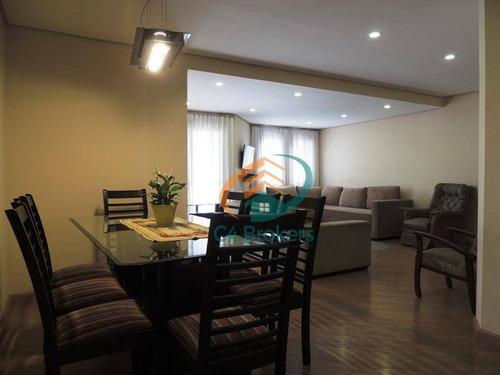 Imagem 1 de 20 de Apartamento Com 3 Dormitórios À Venda, 177 M² Por R$ 550.000,00 - Vila Galvão - Guarulhos/sp - Ap0834