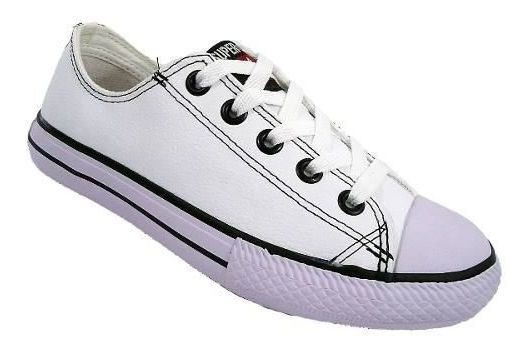 Tenis Super Star Leather Couro Tradicional De R$189,90 Por: