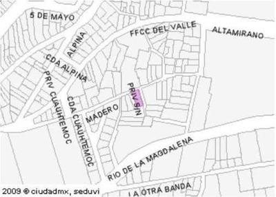 (crm-3939-1862) Terreno En Venta, Tizapan, Álvaro Obregón