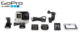 Câmera Digital E Filmadora Gopro Hero4 Black + Acessórios