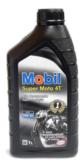 Oleo Motor Mobil 4t 20w50 Original Mobil Preto