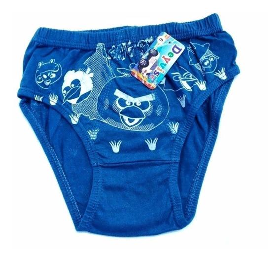¡¡¡¡slip Para Niño De Algodon Diseño Infantil Pack X 12