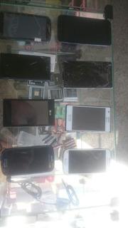 Lote Smartphones No Estado 8 Aparelhos Diversas Marcas E Mod