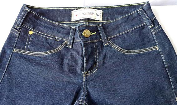 Calça Jeans Feminina Clock House Original No Tamanho 36