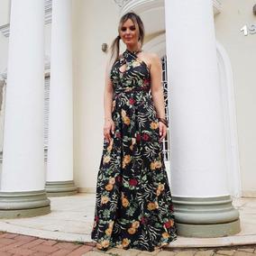 Vestido Longo Casuais Femininos Varias Formas De Uso 710