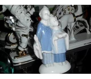 Figura De Porcelana Gerold Porzellan Bavaria West Germany Ni