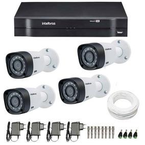 Kit Intelbras 4 Câmeras