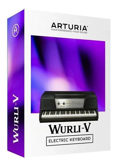 Software Arturia Wurli V Wurlitzer Original Licencia Oficial