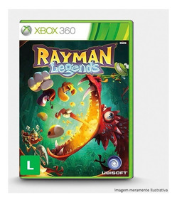 Rayman Legends - Original Para Xbox 360 Novo