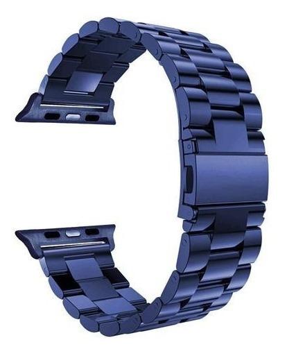 Correa Para Apple Watch Eslabones Acero Inoxidable Serie 1 2 3 4