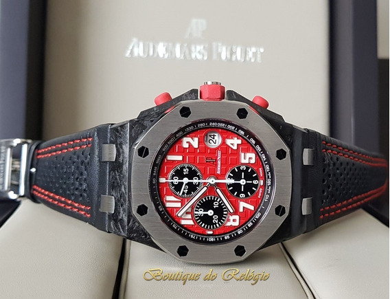 Relógio Eta Modelo Roo Chronograph Singapore Gp - 42mm