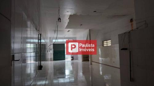 Salão Comercial De 250 Metros Na Lapa, Dois Andares, Três Vagas De Garagem. 3 Banaheiros - Sl0171