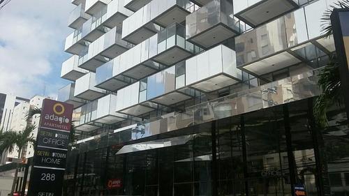 Sala Comercial Para Locação, Barra Funda, São Paulo. - Sa0243