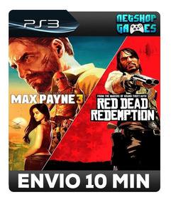 Max Payne Complete Edition 3 & Red Dead Redemption - Ps3 Psn